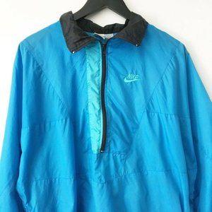 90s Vintage Nike Logo Windbreaker Jacket Half Zip